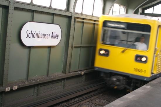 Schönhauser Allee u-bahn station, Berlin
